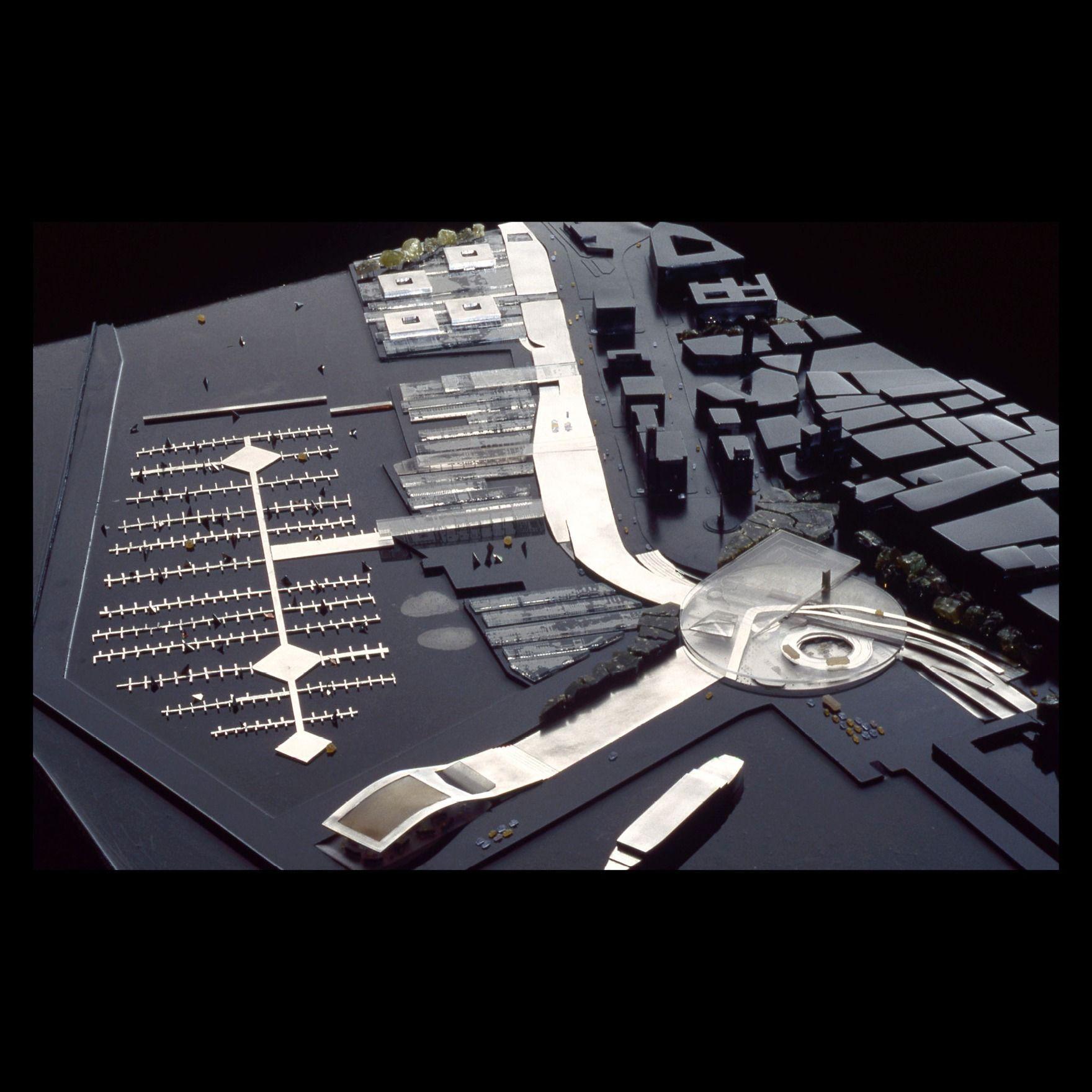 3 Maqueta: OMA - Rem Koolhaas